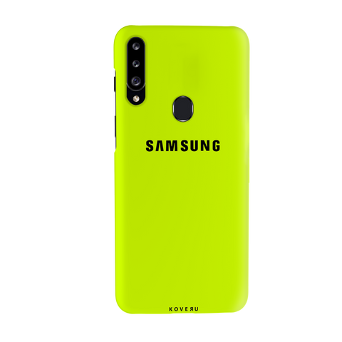 Neon Back Cover Case for Samsung Galaxy A20S