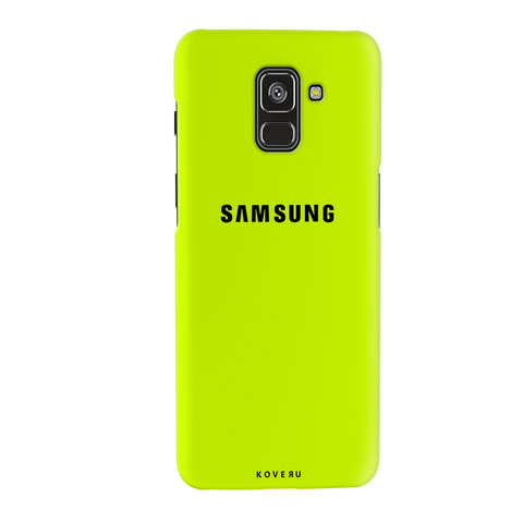 Neon Back Cover Case for Samsung Galaxy A8 Plus