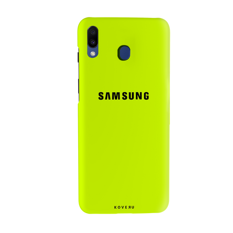 Neon Back Cover Case for Samsung Galaxy M20