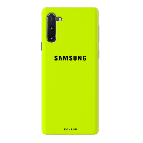 Neon Back Cover Case for Samsung Galaxy Note 10