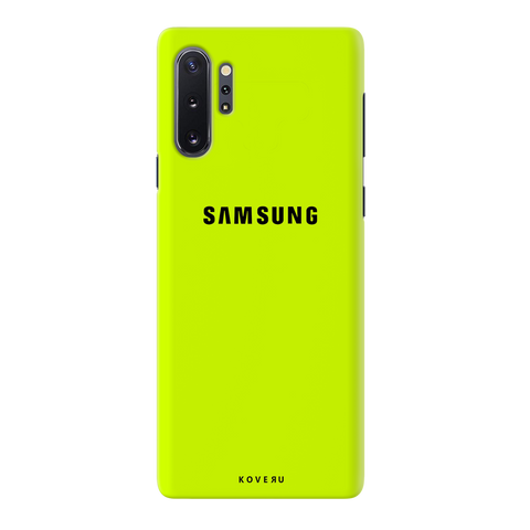 Neon Back Cover Case for Samsung Galaxy Note 10 Plus