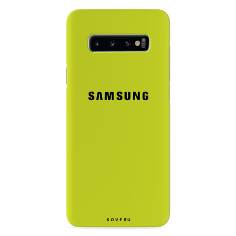 Neon Back Cover Case for Samsung Galaxy S10