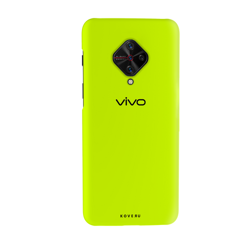 Neon Back Cover Case for Vivo S1 Pro