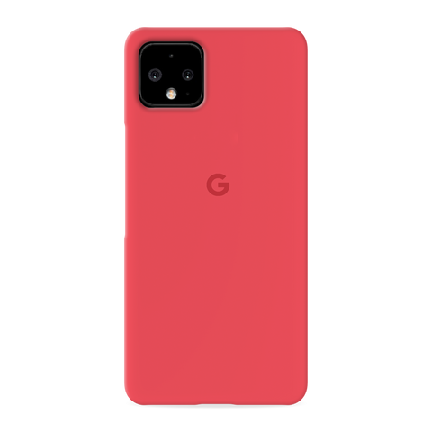 Red Solid Cover Case for Google Pixel 4 XL