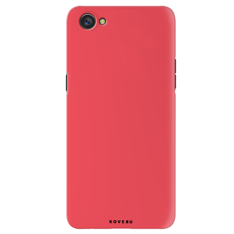 Solid Red Cover Case for Oppo A3
