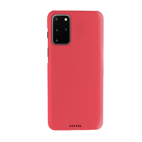 Solid Red Cover Case for Samsung Galaxy S20 Plus
