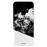 White Splash Case Cover for Samsung Galaxy S9