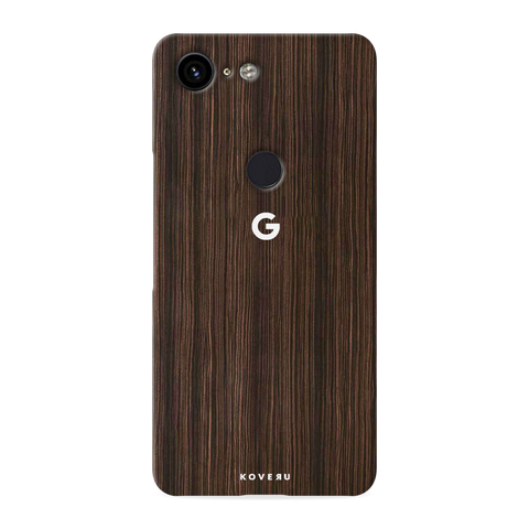 Wooden Texture Cover Case for Google Pixel 3 XL