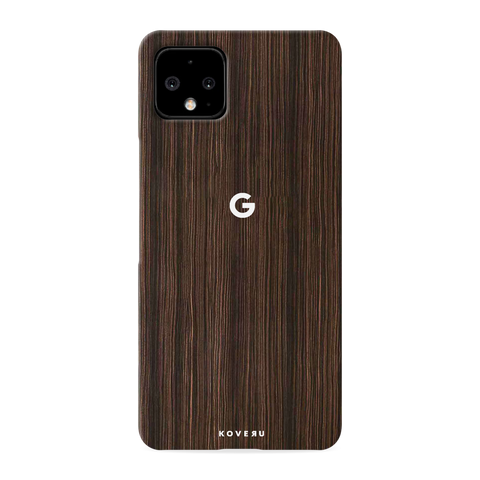 Wooden Texture Cover Case for Google Pixel 4 XL
