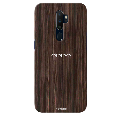 Wooden Texture Cover Case for Oppo A9 2020