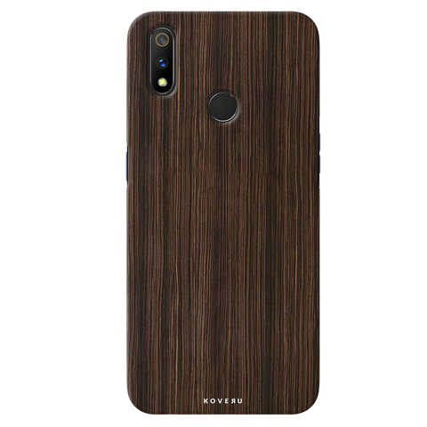 Wooden Texture  Cover Case for Realme 3 Pro