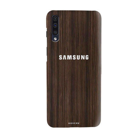 Wooden Texture Cover Case for Samsung Galaxy A50