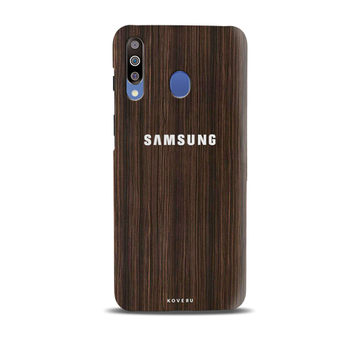 Wooden Texture Cover Case for Samsung Galaxy M30
