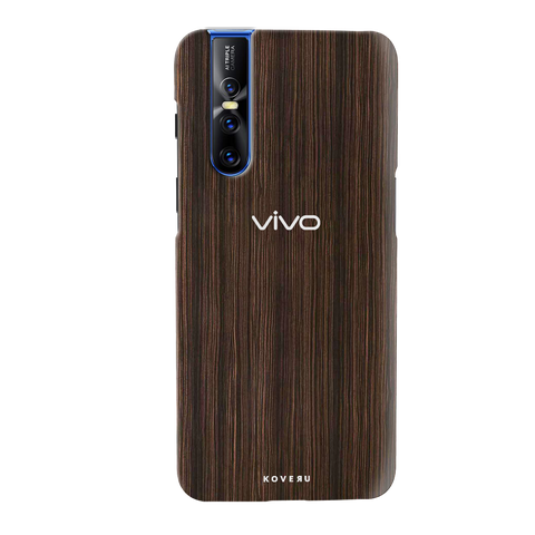 Wooden Texture Cover Case for Vivo V15 Pro