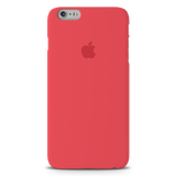 Red Back Cover Case For iPhone 6/6S Plus
