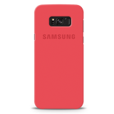 Red Back Cover Case For Samsung Galaxy S8 Plus