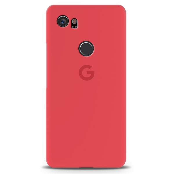 Red Back Cover Case For Google Pixel 2 XL