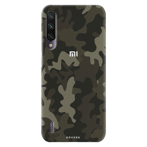 Brown Abstract Camouflage Cover Case for Redmi A3