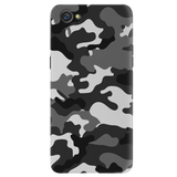 Black Abstract Camo Cover Case for Oppo A3
