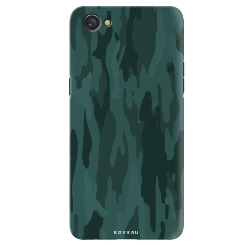 Green Camouflage Cover Case for Oppo A3