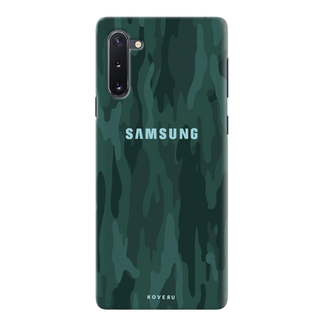 Green Camouflage Cover Case for Samsung Galaxy Note 10