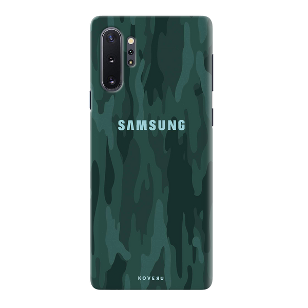 Green Camouflage Cover Case for Samsung Galaxy Note 10 Plus