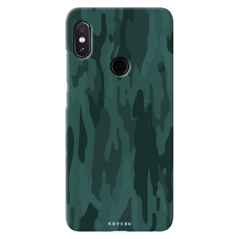 Green Camouflage Cover Case for Redmi Note 5 Pro