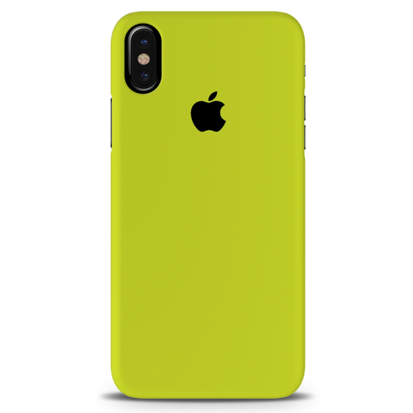 Neon Back Cover Case For iPhone X