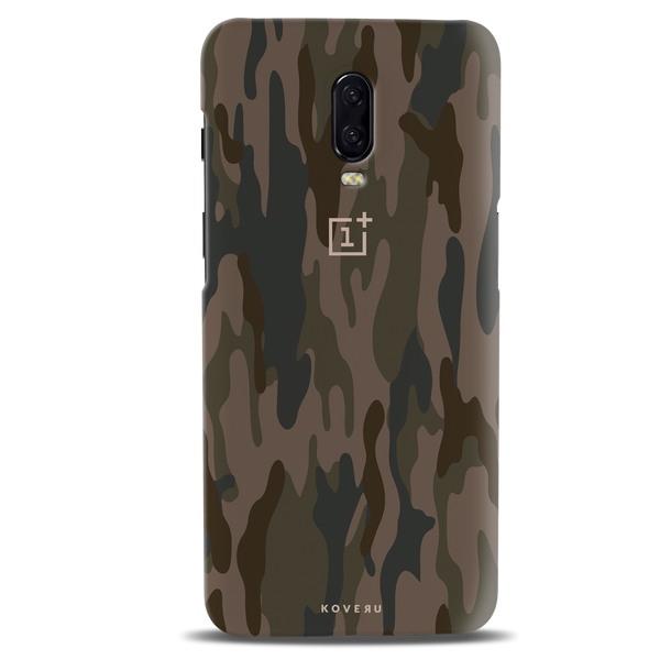 Army Camouflage Cover Case For OnePlus 6T