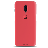 Red Back Cover Case For OnePlus 6T
