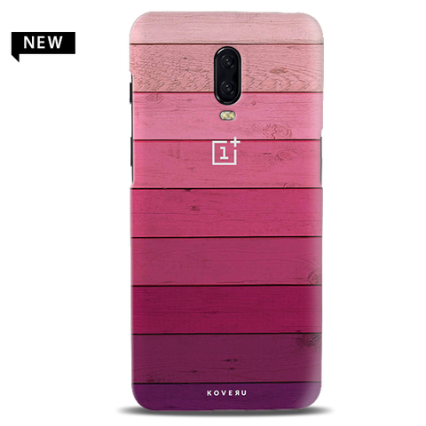 Shades of Pink Love Cover Case For OnePlus 6T