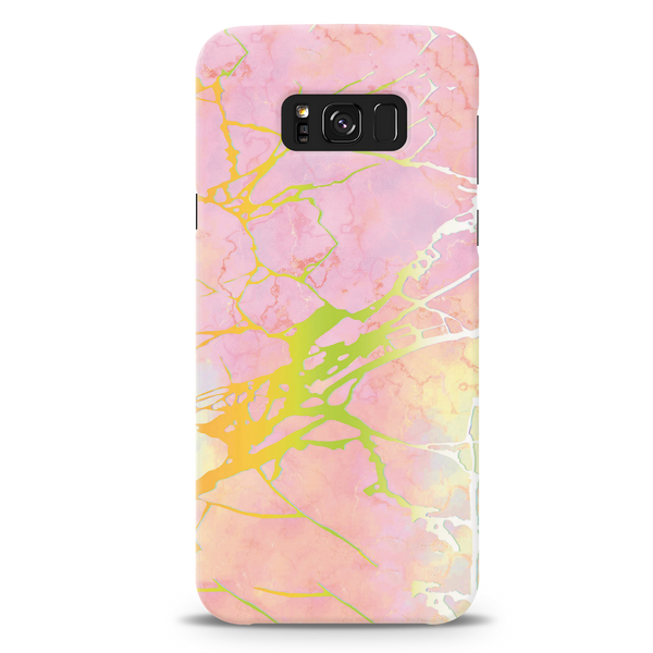 Lovely Pink Marble Cover Case For Samsung Galaxy S8 Plus