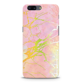 Lovely Pink Marble Cover Case For OnePlus 5
