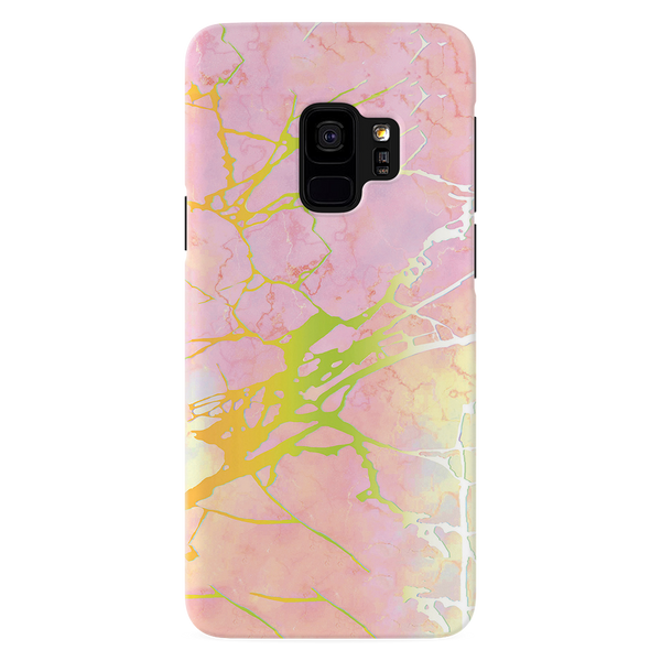 Lovely Pink Marble Cover Case For Samsung Galaxy S9