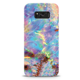 Opal Marble Cover Case For Samsung GalaxyS8 Plus
