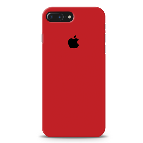 Blood Red Cover Case For iPhone 7/8 Plus