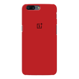 Blood Red Cover Case For OnePlus 5