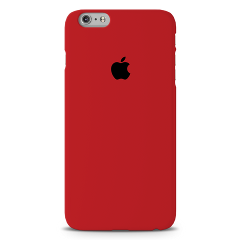 Blood Red Cover Case For iPhone 6/6S Plus