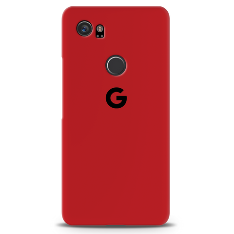 Blood Red Cover Case For Google Pixel 2 XL