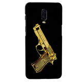 Golden Vintage Gun Cover Case for OnePlus 6T