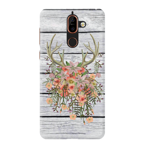 Spring Cover Case for Nokia 7 Plus