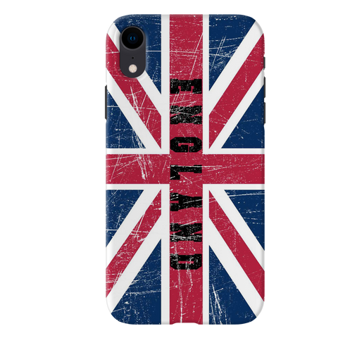 England Cover Case for iPhone XR