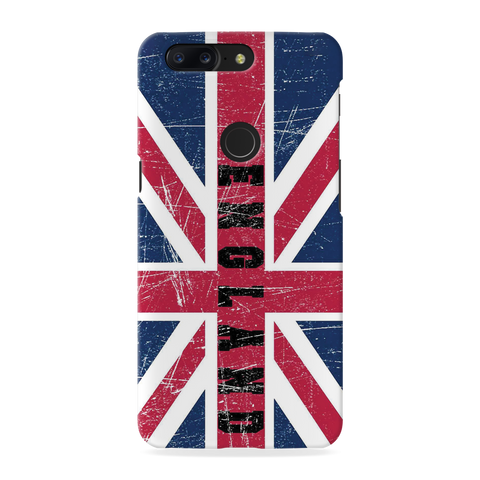England Cover Case for OnePlus 5T