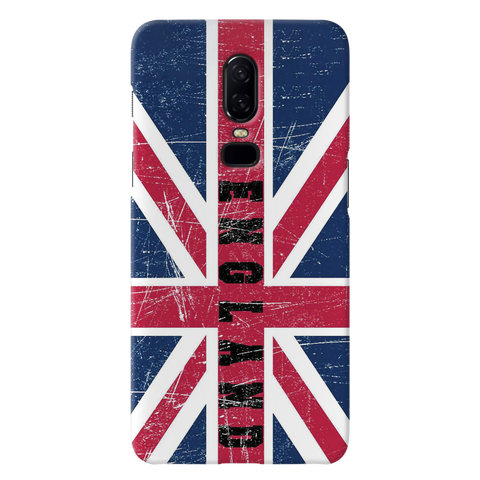 England Cover Case for OnePlus 6