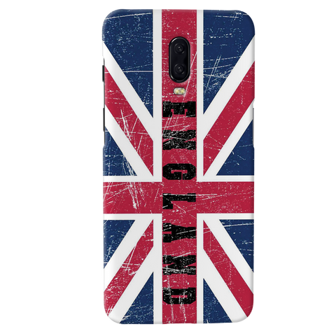 England Cover Case for OnePlus 6T