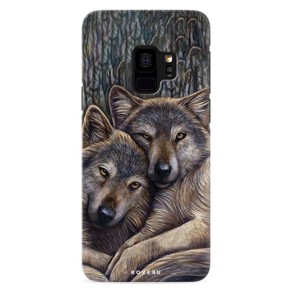 Wolf Cover Case For Samsung Galaxy Galaxy S9