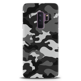 Black Abstract Camouflage Cover Case For Samsung GalaxyS9 Plus