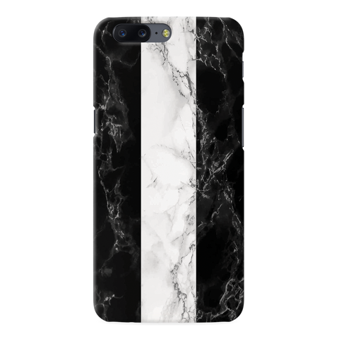 B&W Marble Stripes Cover Case For OnePlus 5