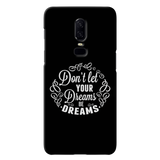 Dreams Cover Case For OnePlus 6