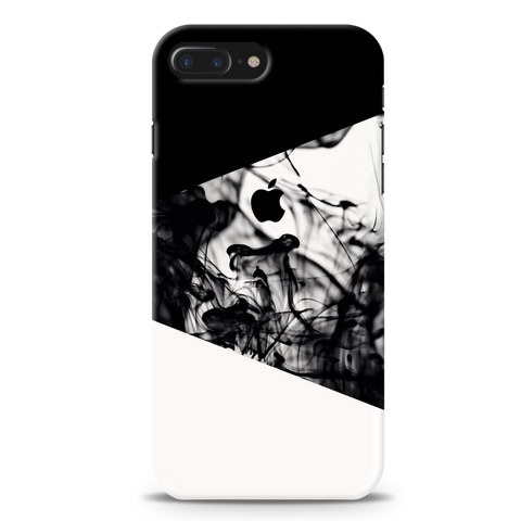 White Splash Cover Case For iPhone 7/8 Plus